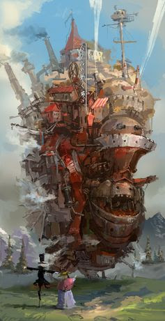 ハウルの动く城 by lixiaoyaoII