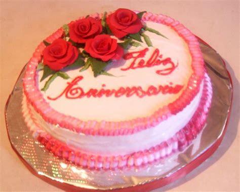 esta torta fue un regalo para un aniversario de casados