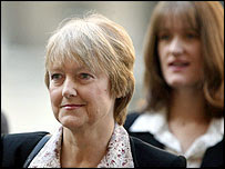 Janice Kelly arrives at the inquiry on Monday