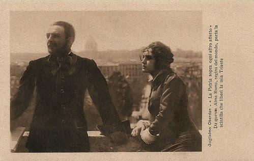 Alberto Collo and Vittorina Moneta in Oberdan (1915)