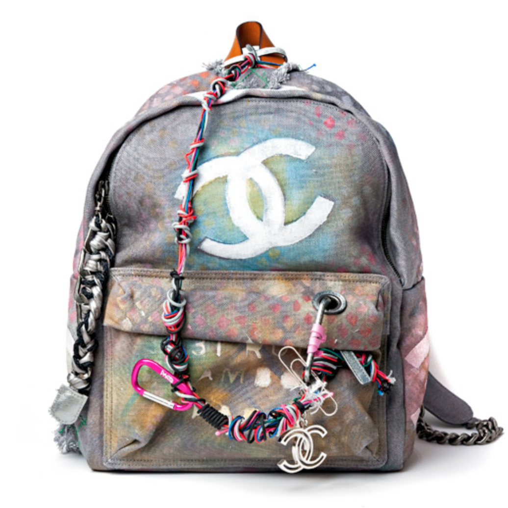 Chanel Unveils 3 400 Canvas Graffiti Backpack
