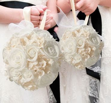 Flower Girl Baskets, Basket Accessories & Rose Petals