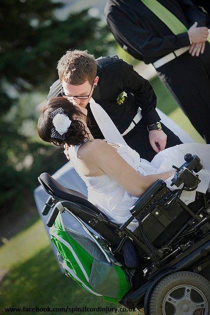 Noiva com deficiência