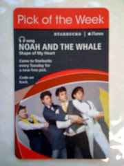 Starbucks iTunes Pick of the Week - Noah and the Whale - Shape of My Heart