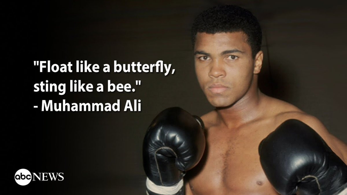 Muhammad Alis Most Memorable Quotes Float Like A Butterfly Sting