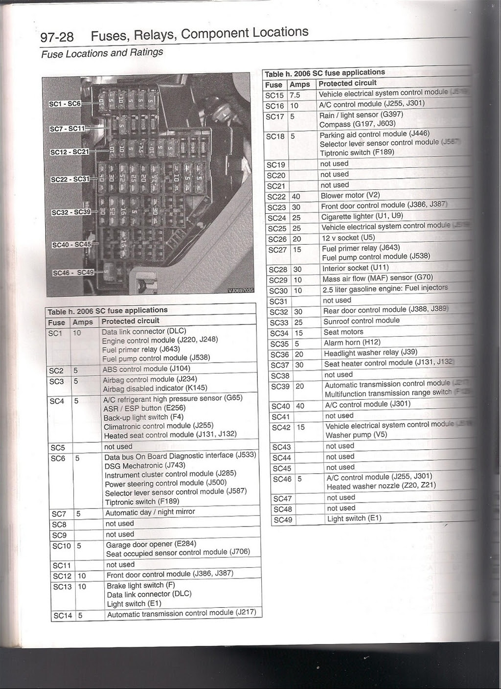 2008 An Fuse Box Diagram