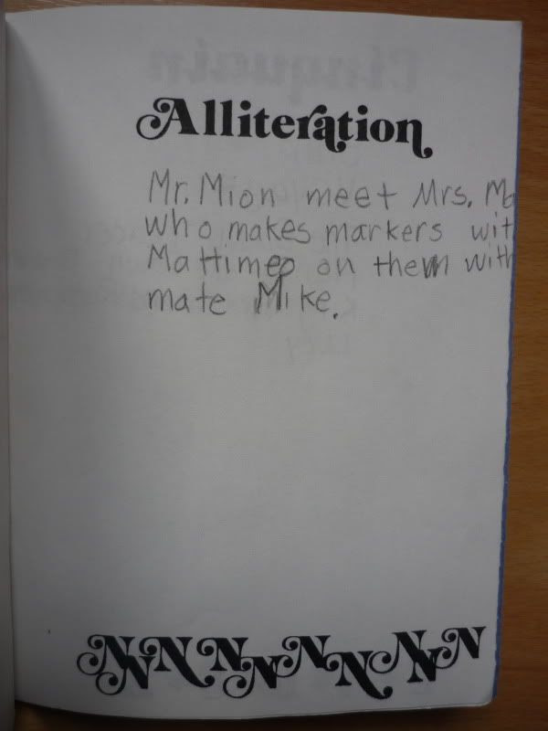 4th Grade Poetry Book