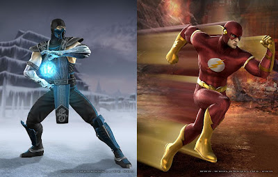 Mortal Kombat vs. DC Universe - Sub Zero and The Flash
