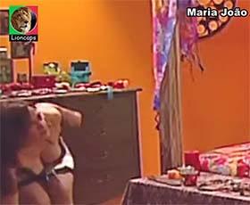 Maria João Abreu sensual na serie A casa é minha