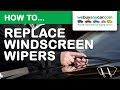 Do Halfords Repair Windscreen Wipers