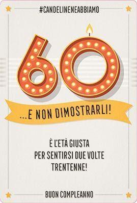 Auguri Compleanno 60 Anni