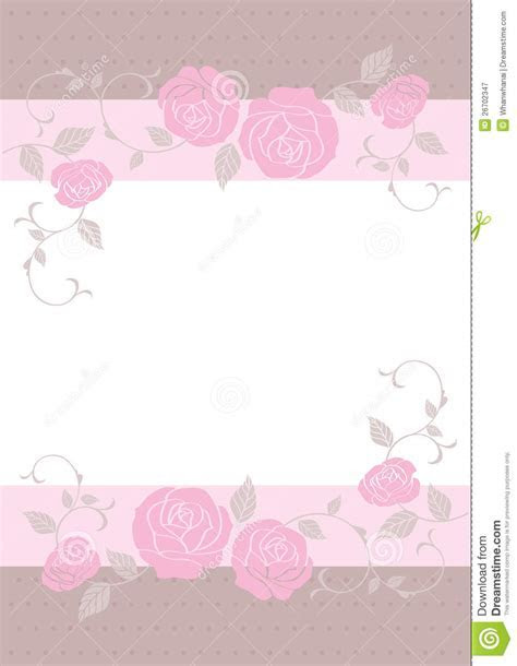 Wedding card,card template stock vector. Image of