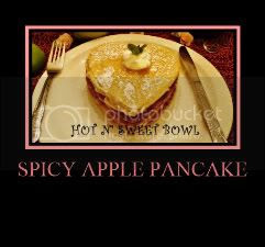 Spicy Apple Pancake