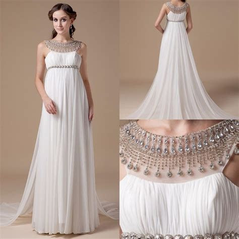 2016 Empire Maternity Wedding Dresses Real Photos