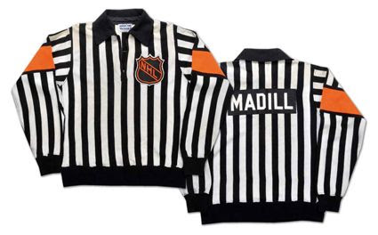 1980's NHL referee's sweater