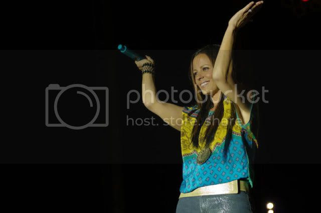 Sara Evans @ Toadlick Music Festival in Dothan, AL on March 24, 2012.