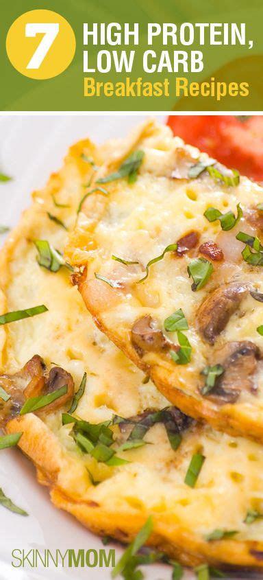 ideas  high protein  carb diet recipes
