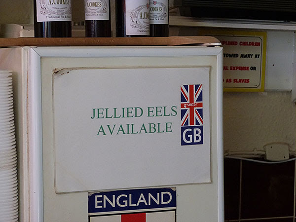 Jellied eels available
