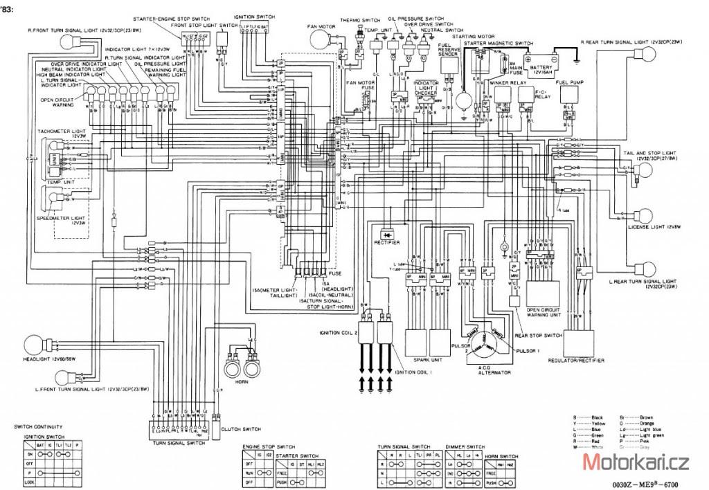 6 SCHEMA ELECTRIQUE HONDA SHADOW 600 - SchemaElectricHonda2