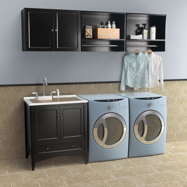 Berkshire Laundry Sink Vanity by Foremost - contemporary - laundry ...