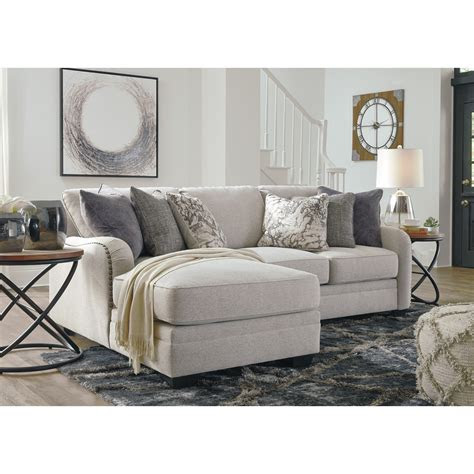 dellara casual  piece sectional  left chaise becker