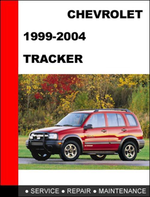 chevy tracker repair manual ebook