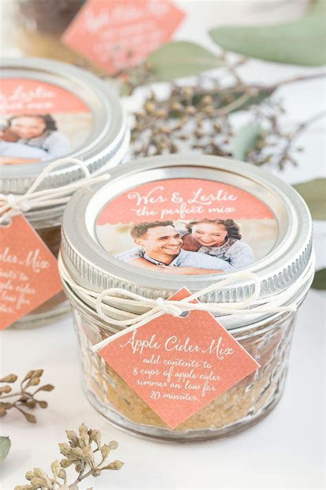 Fall Wedding Favor: Apple Cider Mix   Fall Wedding Ideas