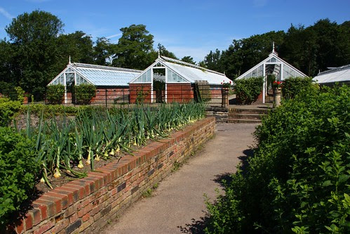 Greenhouses and vegetable Gardens at Chatsworth