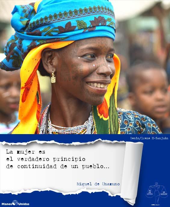 Manos Unidas. Dia de la Mujer