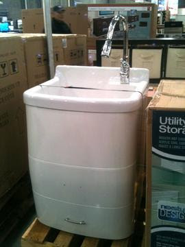 installation - Should I secure a free-standing vanity sink to ...
