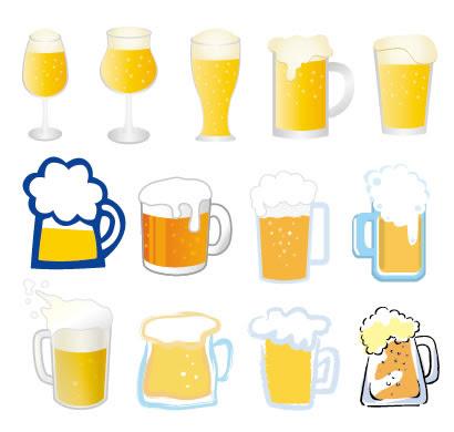 ビールのイラストaieps ベクタークラブイラストレーター素材が無料