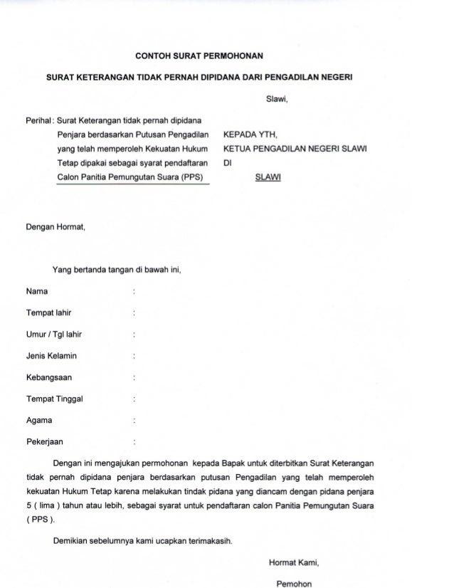 contoh surat lamaran kerja resmi pdf contoh sur