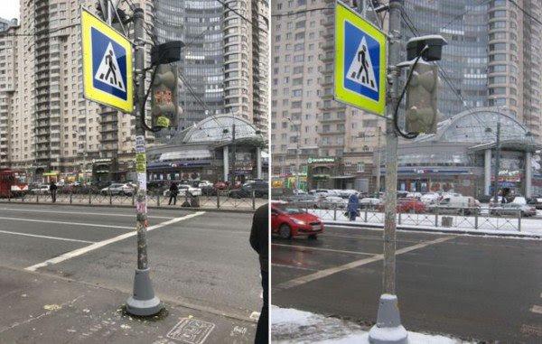 Perierga.gr-Ρωσικές αρχές χρησιμοποιούν ξανά Photoshop για να καθαρίσουν την πόλη