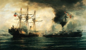 Enfrentamiento naval