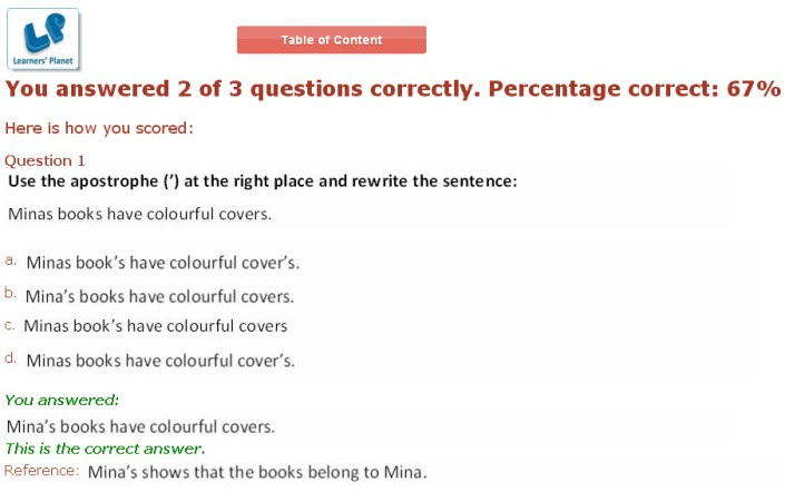 English Quiz Questions And Answers For Class 5 - QUIZ