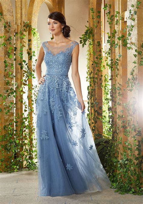 MGNY by Morilee 71922 Sheer Mother of the Bride Dress