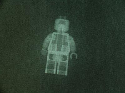 lego minifig xray