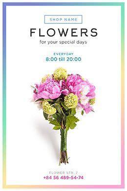 Flower Shop FREE PSD Flyer Template   Free Flyer Templates