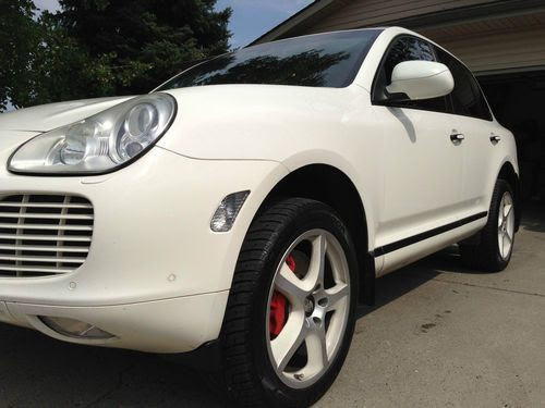 Sell Used 2006 Porsche Cayenne Turbo S Rare Color Options