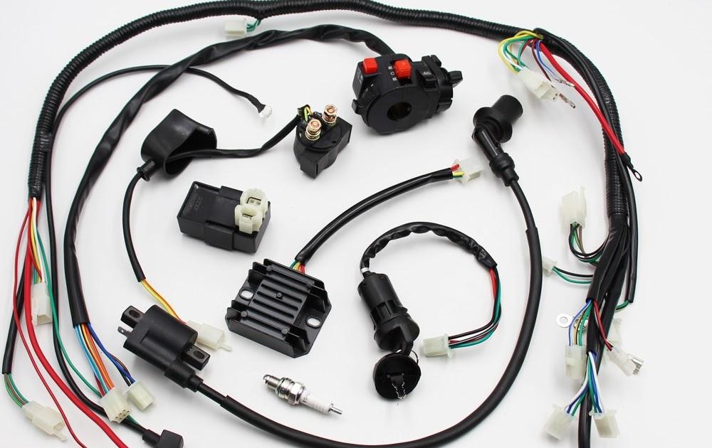 Bmx 150cc Atv Wiring Harnes
