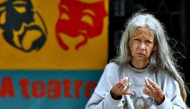 Heartbreaking end:Damarys Ruiz, 68, died on the streets after spending the last 15 years of her life homeless