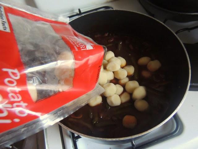 gnocchi beef stew maple syrup
