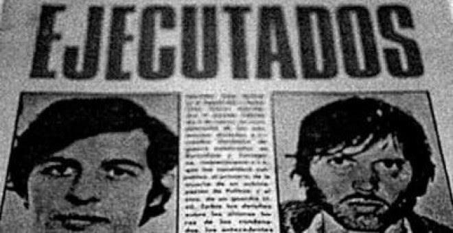 Salvador Puig Antich y Heinz Ches fueron ejecutados el 2 de marzo de 1974