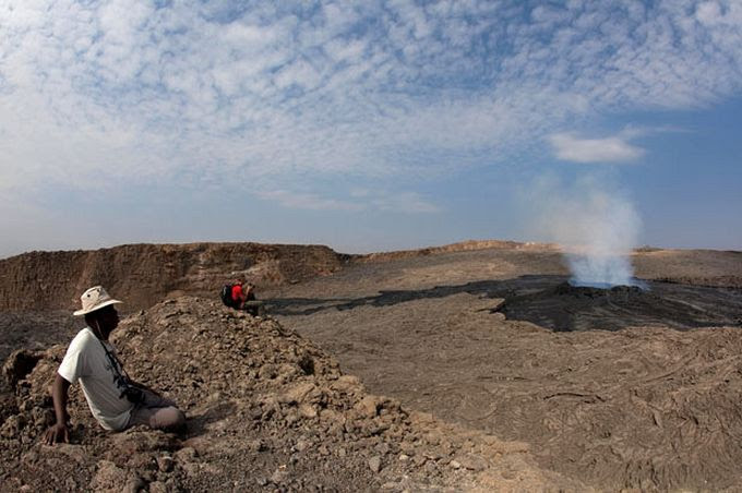 Ад в пустыне Данакиль интересное, пустыня