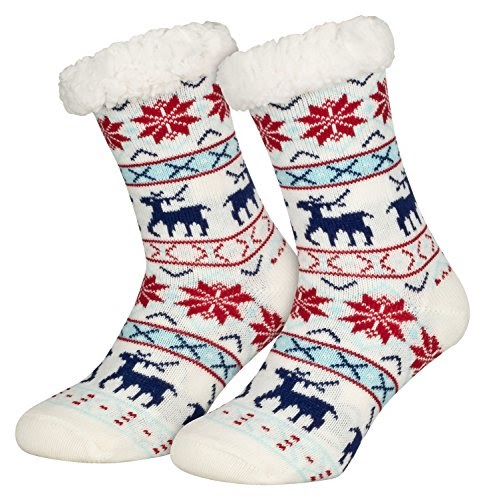 35-36 Haussocken Hüttenschuhe dicke Socken Strick Stricksocken Socken Gr