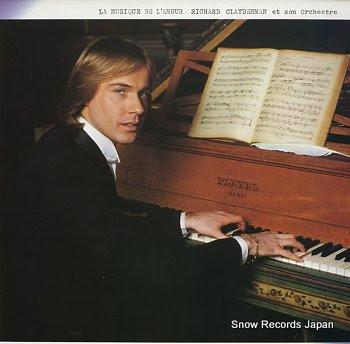 CLAYDERMAN, RICHARD la musique de l'amour