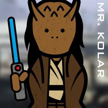 Mr. Agen Kolar. A Jedi.