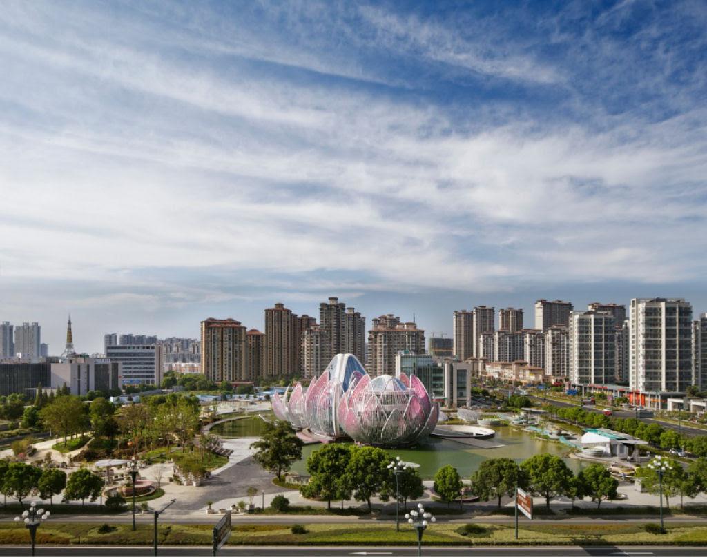 O edifício em forma de flor lótus em Wujin, na China 06