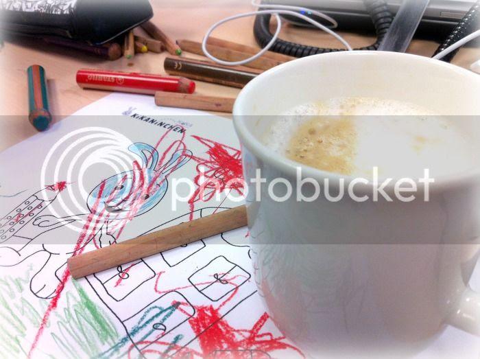 Kaffee und Malen