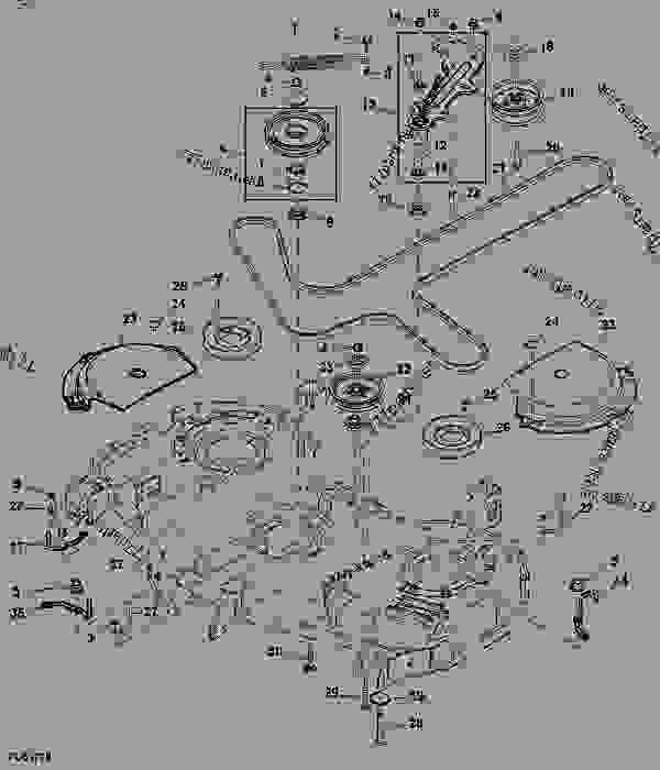 John Deere Z925a Parts Diagram